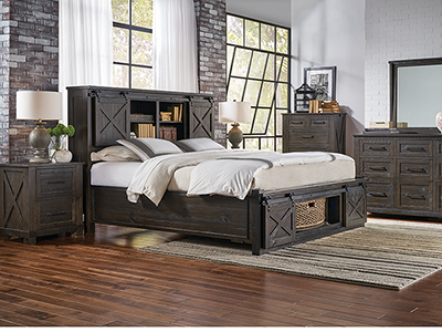Canyon Queen Storage Bed