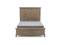 Plank Road Queen Panel Bed