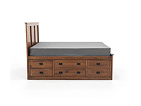 Witmer American Mission Queen Storage Bed