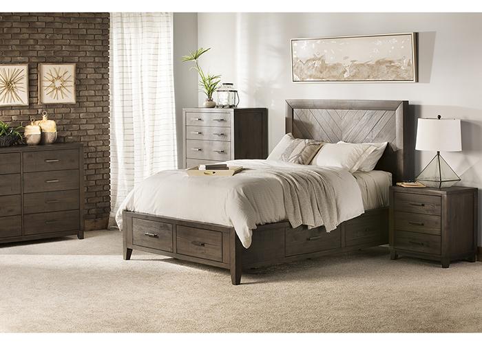 Direct Designs 174 Aria Queen Storage Bed Steinhafels