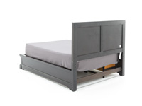Direct Designs® French Quarter Queen Bed with 1 Side Storage