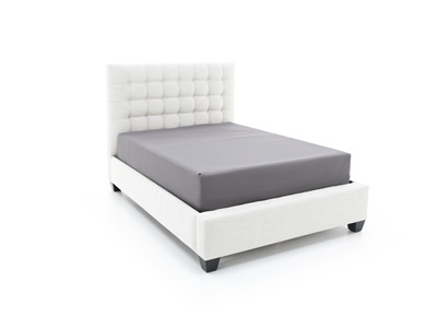 Myra Alabaster Queen Upholstered Bed