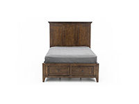San Mateo Tuscan Full Storage Bed