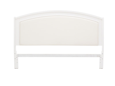 Brennan White King Headboard
