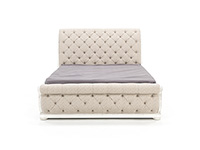 CHARLESTON KING UPHOLSTERED SLEIGH BED