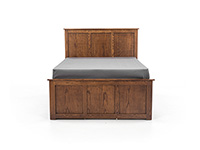 Witmer American Mission #80 King Panel Storage Bed