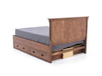Witmer American Mission #80 King Storage Bed