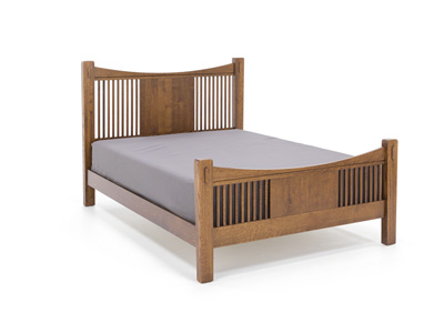 Heartland King Slat Bed w/Slat Footboard