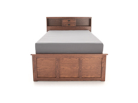 Witmer American Mission King Bookcase Storage Bed