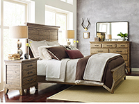 Plank Road King Panel Bed