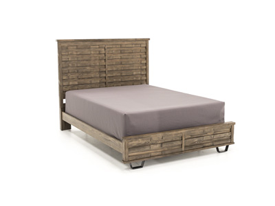 Foundry King Panel Bed