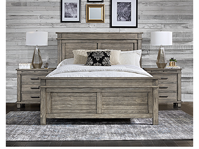 Mineral Point King Panel Bed