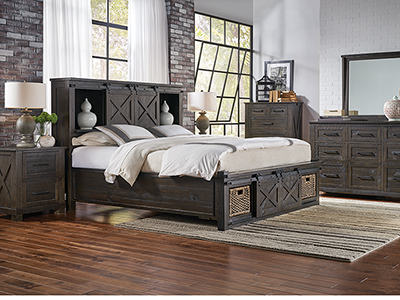 Canyon King Storage Bed