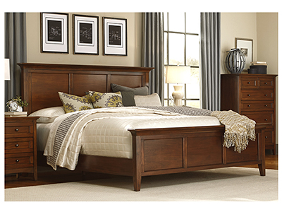 Simplicity King Panel Bed