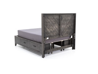 Direct Designs®  Aria King Storage Bed