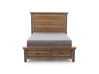 Taos King Storage Bed