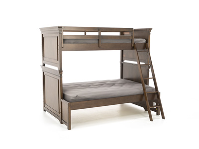 Canterbury Cherry Twin Over Full Bunk Bed