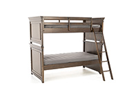 Canterbury Cherry Twin Over Twin Bunk Bed