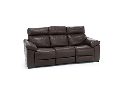 Gianna Leather Power Headrest Reclining Sofa