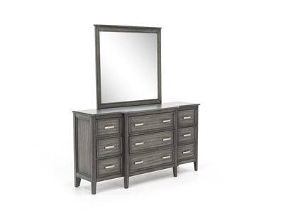 Richfield Smoke Dresser and Mirror