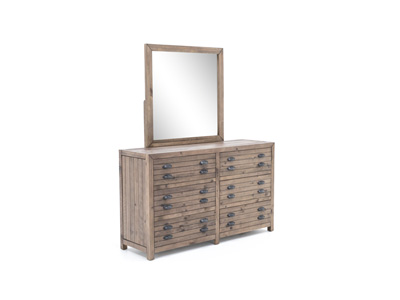 Pine Hollow Dresser & Mirror