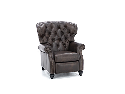 Marquis Leather High-Leg Recliner
