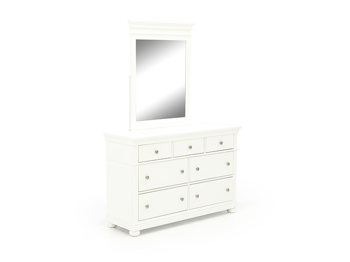 Canterbury White Mirror