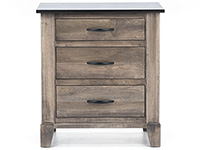 Daniel's Amish Metropolitan Two-Toned Nightstand