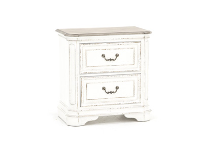 CHARLESTON 2-DRAWER NIGHTSTAND