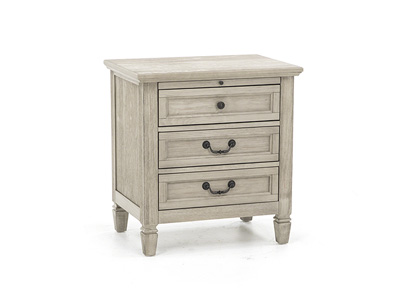 Willow Grey Nightstand