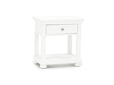 Canterbury White Nightstand