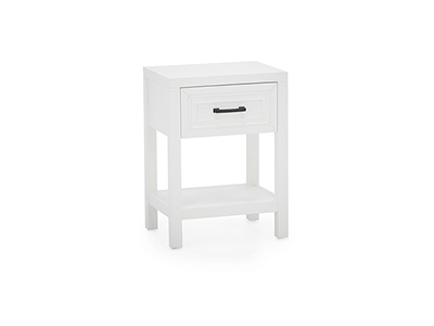 Direct Designs® Essentials White Nightstand