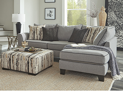 MARIN CHAISE SECTIONAL WITH FREE OTTOMAN