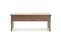Witmer American Mission #80 Storage Bench