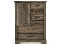Cool Rustic Door and Drawer Chest