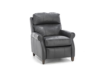 Amanda Leather Push Back Recliner