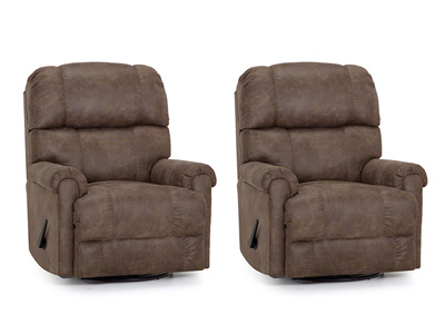 Buy One, Get One Free! Westly Swivel Rocker Recliner