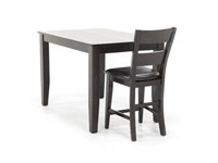 Dark Rustic Counter Height Dining Table