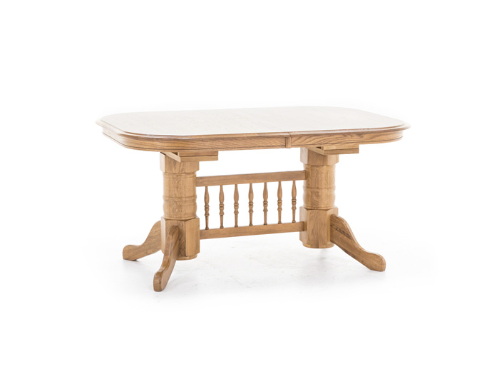 Trestle Oak Table