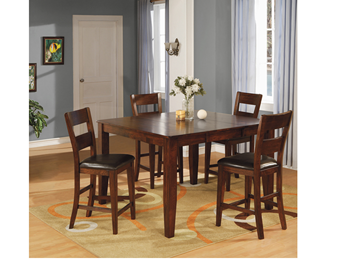 Amber 5 Pc Counter Height Dining Set Steinhafels