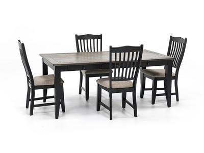 Ashbrook 5-pc. Dining Set-Black
