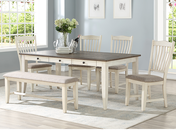 Ashbrook 5-pc. Dining Set - White
