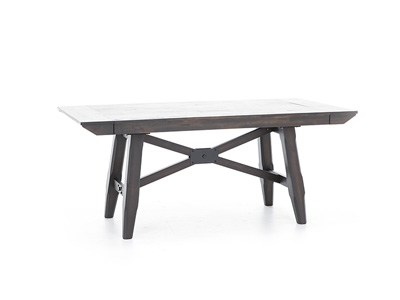 Double Bridge Trestle Table