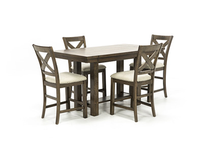 Willowbrook 5pc. Counter Height Dining Set