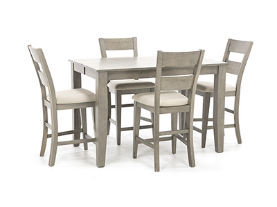 Hillcrest II 5-pc. Counter Height Dining Set