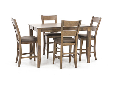 Amber II 5-pc. Counter Height Dining Set
