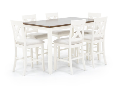 Thornton 7-Pc. Counter Height Dining Set