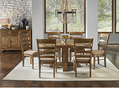 Bennett Round 5-pc. Dining Set