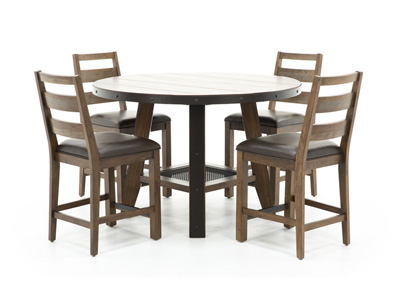 Taos 5-pc. Counter Height Dining Set