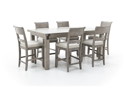 Prospect Hill 7-pc. Counter Height Dining Set